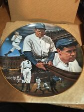 Babe Ruth Collectible Plate by Sports Impressions -  numbered 702 of 714