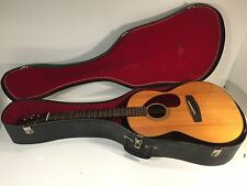 Vintage Yamaha FG-75 Acoustic Guitar With Case
