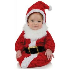 Santa Outfit Baby Bunting Christmas Costume Fancy Dress