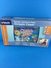 Vtech Voyager Adventure Pack Quiggle Caper Game Magic Town Professor Bumblebrain