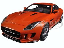 2015 JAGUAR F-TYPE R COUPE FIRESAND METALLIC ORANGE 1/18 DIECAST AUTOART 73653