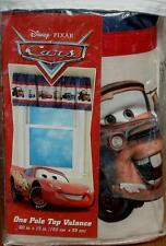 "Disney-Pixar Cars Pole Top Valance - 60"" x 15"" - BRAND NEW IN PACKAGE"