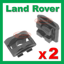 LAND ROVER DISCOVERY 3 4 REAR BUMPER TOW COVER CLIPS TOWING EYE TRIM INSERTS