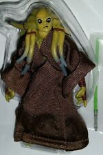"Star Wars KIT FISTO 3.75"" Figure Jedi Knight WALMART Exclusive Droid Factory"