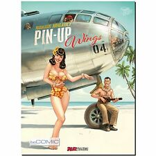 Pin up Wings 4 Romain Hugault PINUP ARTBOOK EROTIK ZEICHNUNG COMIC GRAFIK 50er