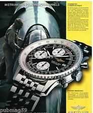Publicité Advertising 2000 La Montre Breitling Old Navitimer