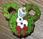 Disney Frozen Olaf Happy Holidays 2014 Mystery Set Wreath Pin Limited Release