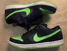Nike Dunk SB Low Neon J Pack 10.5 SBTG supreme black Skate green Jordan 1