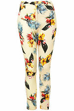 Topshop Motel Jodie Hawaiian Fiji Print Trousers Pants UK 8 EURO 36 US 4 BNWT