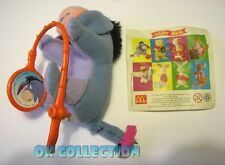 HAPPY MEAL MC DONALD'S Winnie the Pooh 2002_ personaggio ASINO IH-OH + cartina