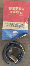 NOS Dodge 1956 parking lamp  Cable & Socket Assembly mopar 1627337