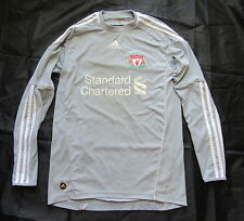 The Reds FC LIVERPOOL goalkeeper jersey by ADIDAS 2010-2012 Grey GK Shirt/men/ S