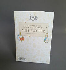Miss Potter 50p Album Coin Royal MINT PENCE POUND HUNT Collection The Beatrix