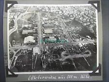 ORIGINAL FOTO VON 1929*LUFTBILD*OKTOBERFEST AUS 500 METER*MÜNCHEN*TOP SCHARF!!