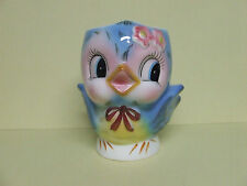 RARE/VHTF Vintage Lefton Children's Blue Bird Mug/Cup (Signed/#7025)