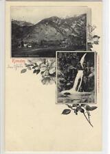 AK Kematen, Pulvermühle, Martinswand, Wasserfälle, 1898