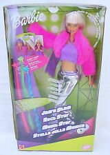 "Mattel USA BARBIE 12"" JAM'N GLAM ROCK STAR Music Artist Doll Figure Set MISB`00!"