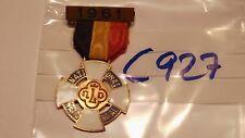 Belgio Medaglia Croce NLD National federale 1961 1 pezzi (c927)