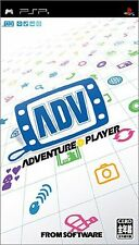 Used PSP Adventure Player  Japan Import ((Free shipping))