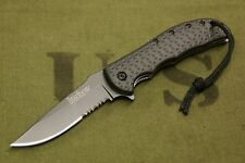 KERSHAW VOLT II 3650 ASSISTED OPEN LOCK BLADE KNIFE/SHEATH - KGB