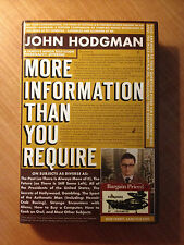 More Information Than You Require by John Hodgman (2008, Hardcover) item#4331