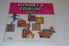 Alphabet & Counting Songs~Aim Records 00192C~Children's LP~FAST SHIPPING