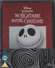 The Nightmare Before Chrismas,geprägtes Blu Ray Steelbook, Out Of Print, NEU&OVP