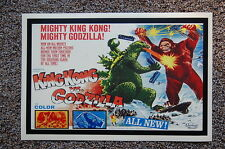 Godzilla vs. King Kong Lobby Card Movie Poster