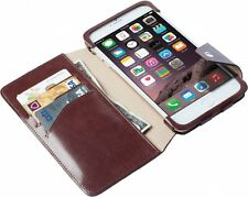 KRUSELL iPhone 6 PLUS Wallet/Coperchio/Case-Marrone in Pelle/iPhone 6+