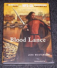BLOOD LANCE by Jeri Westerson (2012 Audio MP3-CD Unabridged) A Medieval Noir NEW