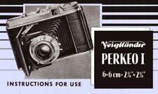 VOIGTLANDER PERKEO I INSTRUCTION MANUAL FREE SHIP