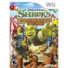 Shrek's Carnival Craze Party Games - Wii