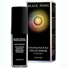 DEAD SEA MINERALS- SEA OF SPA BLACK PEARL CONTOURING FACE & EYE CREAM SERUM 50ml