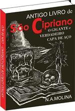 Antigo Livro De Sao Cipriano O Gigante E Verdadeiro Capa Aço Saints Cyprian