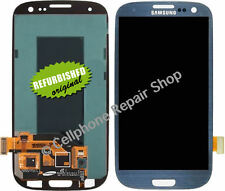 Samsung Galaxy S3 I747 T999 LCD Display Touch Screen Digitizer Glass Lens Blue R