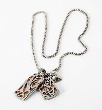Stephen Webster Women's Metallic No Regrets Double Dog Tag Necklace