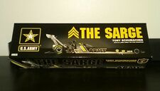 IN STOCK + BONUS 2016 Tony Schumacher ARMY NHRA Top Fuel Dragster 1/24 & 1/64