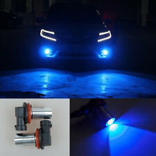 2x Super Bright Ultra Blue LED Cree projector H11 Bulbs DRL Driving Fog Lights