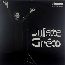 "12"" LP - Juliette Gréco - Juliette Gréco - k3413 - washed & cleaned"