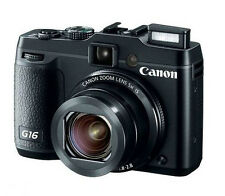 CANON POWERSHOT G16 12.1 MP DIGITAL CAMERA - BLACK JAPAN