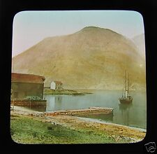 Glass Magic lantern Slide UNKNOWN LOCATION 3 C1890 NORWAY L65