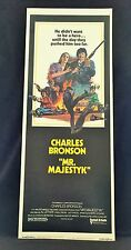 Original 1974 MR MAJESTYK Movie Poster 14 x 36 CHARLES BRONSON Style B