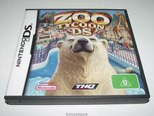Zoo Tycoon DS Nintendo DS 2DS 3DS Preloved *No Manual*