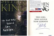 "Signed book ""THE GIRL WHO LOVED TOM GORDON"" by Stephen King.PSA/DNA:AA26021"