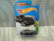2016 HOT WHEELS  ''HW EXOTICS'' #75 = CADILLAC ELMIRAJ = BLACK  int