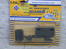 Roco Minitanks NEW 1/87 Modern West German Unimog Communication Truck Lot #368
