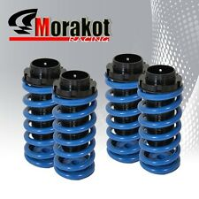 Accord Prelude Scale Adjustable Coilover Dual Lock Racing Lowering Spring Blue