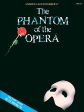Andrew Lloyd Webber The Phantom Of The Opera Organ Learn to Play Music Book