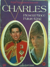Princess Diana: ROYAL ENGAGEMENT SOUVENIR BOOKLET CHARLES FUTURE KING + FREE DVD