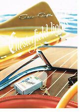PUBLICITE ADVERTISING 064 1991  CHESTERFIELD   cigarettes 2